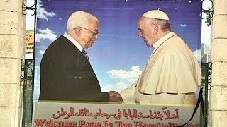 Francis goes to Holy Land