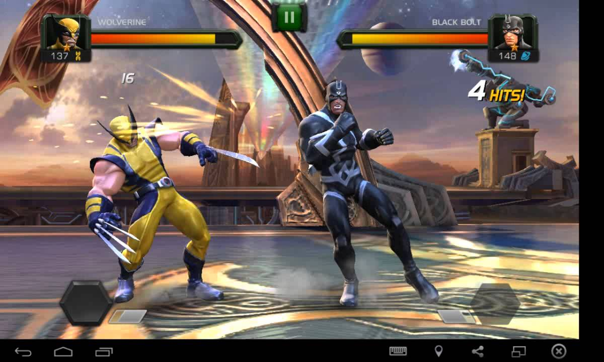 GAME ACTION FOR APPEAL//MARVEL Contest of Champions //Best ...