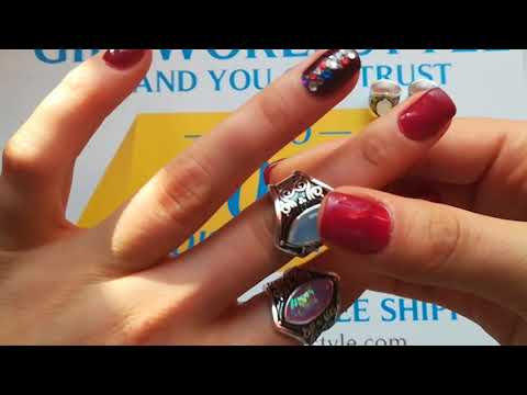 642f8540b Vintage Tibetan Silver Big Healing Crystal Rings Boho Antique Indian M –  GiftWorldStyle - Brand You Can Trust