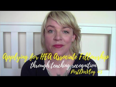 Applying for HEA Associate Fellowship through Teaching Recognition