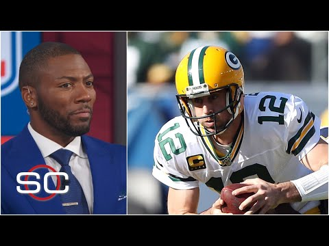 aaron-rodgers-didn't-look-comfortable-in-the-pocket-vs.-chargers---ryan-clark-|-sportscenter