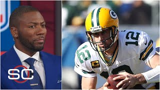 Aaron Rodgers didn't look comfortable in the pocket vs. Chargers - Ryan Clark | SportsCenter