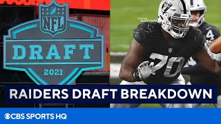 2021 NFL Draft: Breakdown of Raiders' Draft Picks | CBS Sports HQ