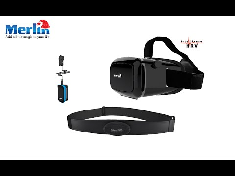 $120 Merlin VR with Heart Rate Variability (HRV) Trainer(on indiegogo now)