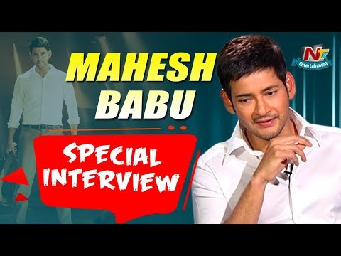 Mahesh Babu Special Interview   Bharat Ane Nenu   Koratala Siva   Kiara Advani   NTV Entertainment