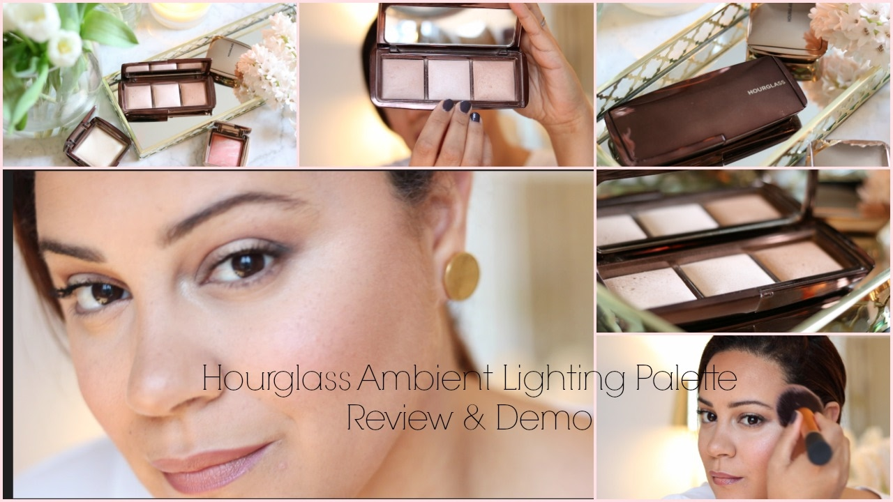 Hourgl Ambient Lighting Palette Review Demo First Impressions Woc
