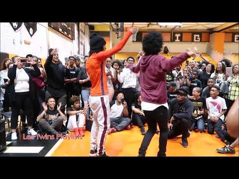 Les Twins Battle Cypher pt 2 | Stop Drop Dance | Camden, NJ 8-26-17