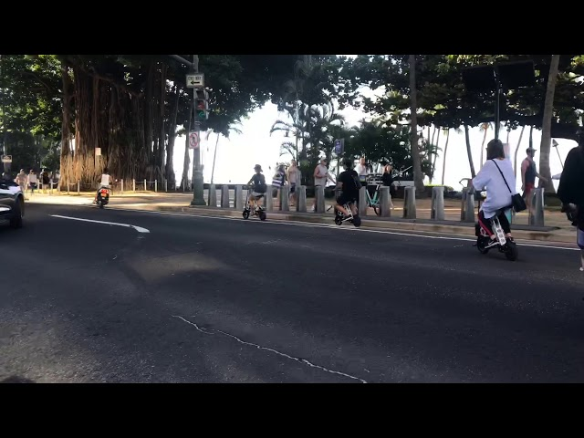 Kapiolani Park and Diamond Head Ride 11/18