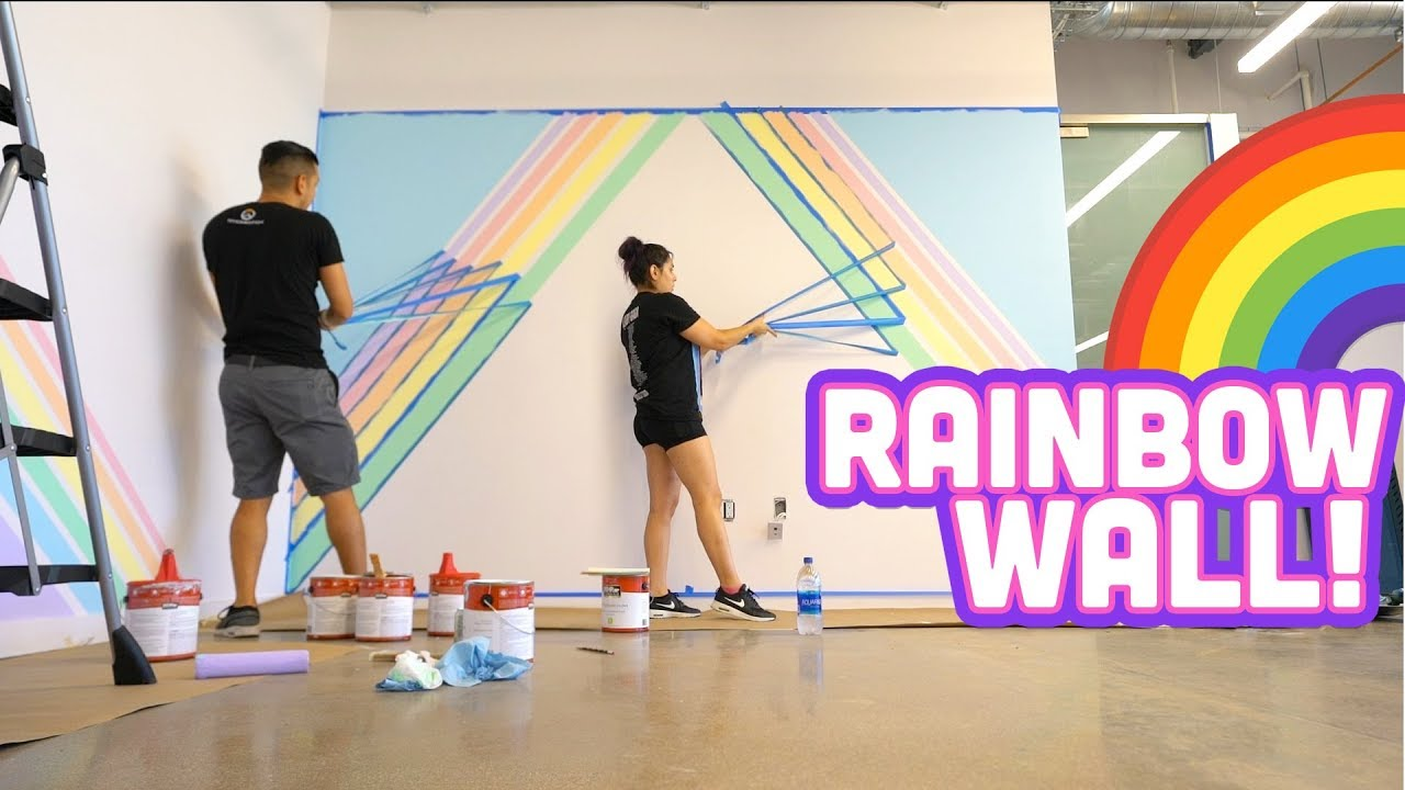 rainbow-wall-at-the-new-office-d-i-y