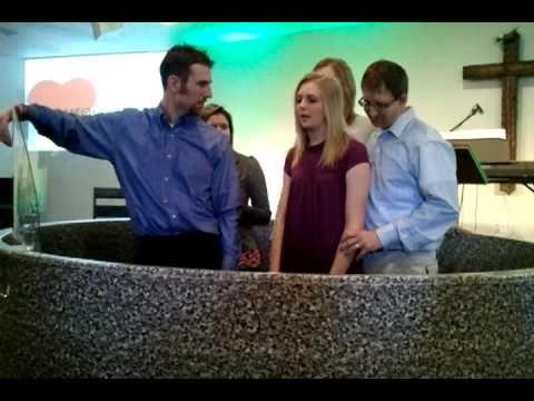 Emily Winklers Baptism