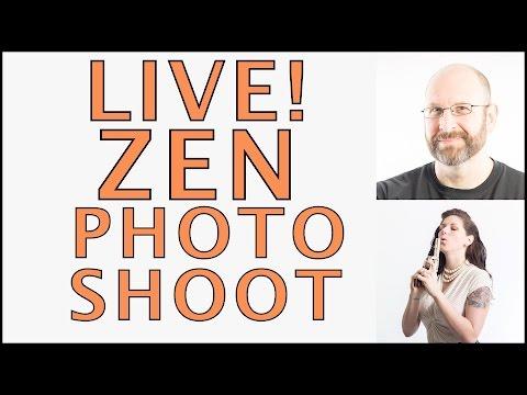 ZEN PHOTOSHOOT! LONG EXPOSURE FLASH COMBO! (Recorded Live)