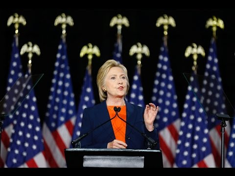 Hillary Clinton: Trump's foreign policy would endanger America