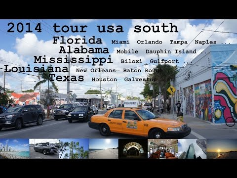 Rundreise Florida mit Mietwagen - Alabama - Mississippi - Louisiana - Texas