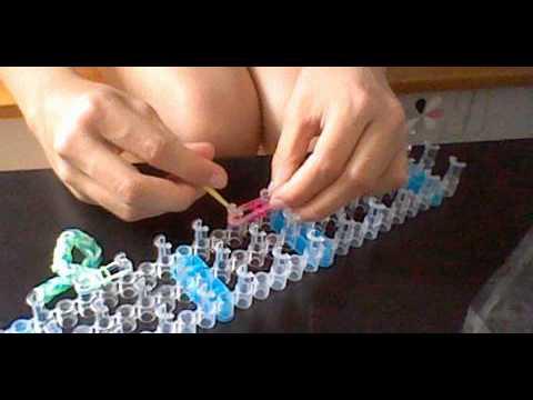 astuce comment faire des bracelets lastiques avec une machine youtube. Black Bedroom Furniture Sets. Home Design Ideas