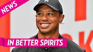 Tiger Woods Is In 'Better Spirits' In Recovery After Crash