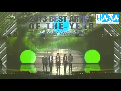 Vietsub 131114 Shinee Best Artist Of The Year Melon Music Awards 2013 Youtube