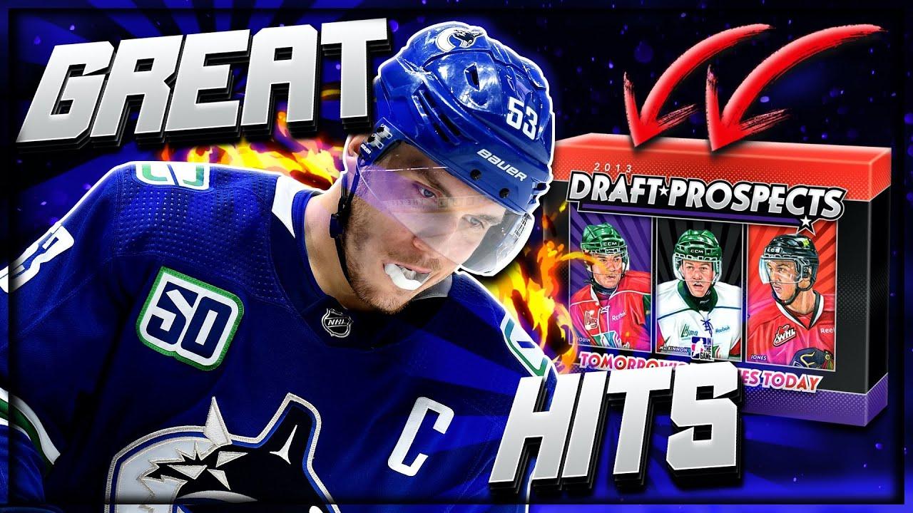 2013 ITG Draft Prospects Hockey Hobby Box Break