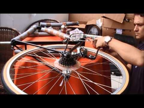 Reconstruindo Caloi 10 - Vintage road bicycle rebuilding - grzanetti - Montagem completa - Parte 2
