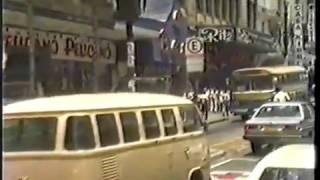 Pelas ruas de Sao Paulo em 1985