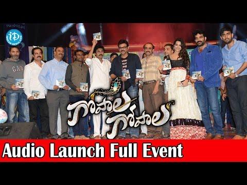 Gopala Gopala Audio Launch Full Event HD - Pawan Kalyan, Venkatesh, Anoop Rubens