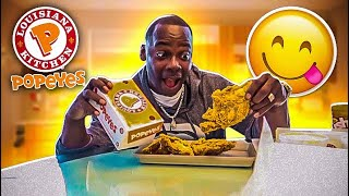 POPEYES MUKBANG/ IS THERE A BABY COMING...