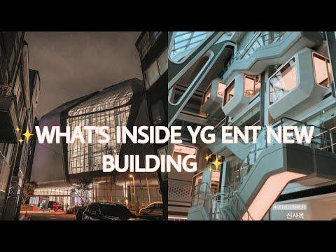 WHAT'S INSIDE YG NEW BUILDING - YG FAMILY flexing YG New Building