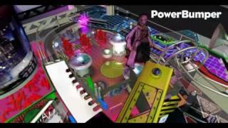PowerBumper and Snail Ramp on FuturePinball table The Dark Knight.