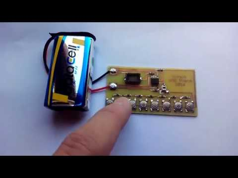 SMD 555 Timer piano - YouTube