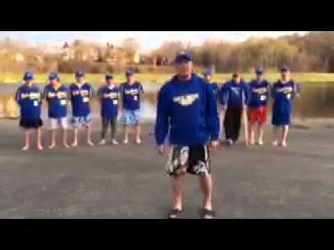 Cold Water Challenge: Taylor Pagel, Hastings Raider Baseball