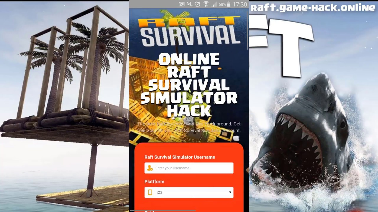 Raft Survival Simulator hack  Free Gold Premium Maps Unlocked Remove Ads