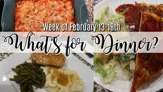 WHAT'S FOR DINNER? | SHARING OUR WEEK