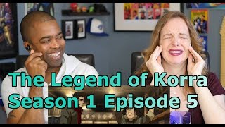 the legend of korra season 1 episode 5 the spirit of competition reaction 🔥