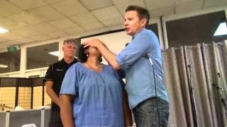 Sinuses healed - John Mellor Healing in Jesus' Name