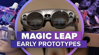 Early Magic Leap One prototypes