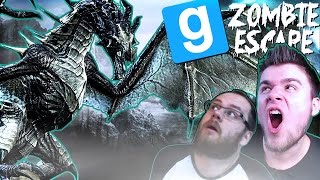 Garry's Mod: Zombie Escape [#9] | ZAATAKOWAŁ NAS SMOK - GRAMY SKYRIM! (W: Admiros, Chucken) #Bladii