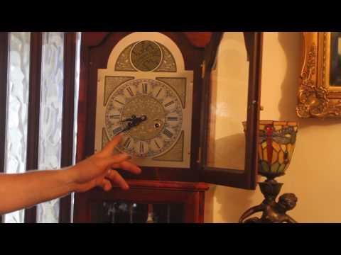 Vintage 'Tempus Fugit' Grandfather Clock