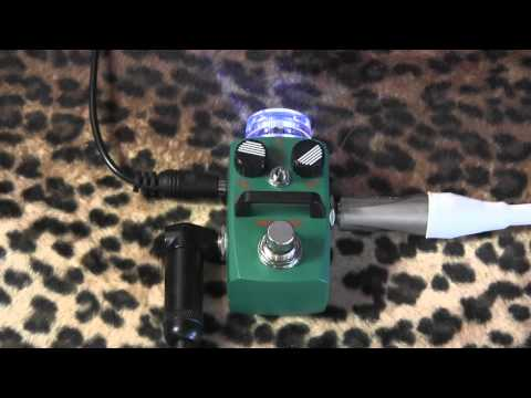 Hotone Audio TAPE EKO delay echo micro pedal demo