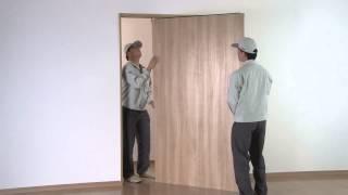 幅広上吊り引戸 戸袋納まり 扉の吊り込み | Panasonic