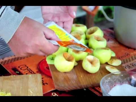 Как в мультиварке запечь яблоко грудничку