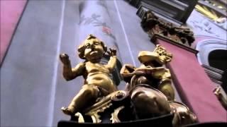 Достопримечательности Львова: Кафедральный Собор Успения Пресвятой Девы Марии(Башня на главном фасаде имеет барочное завершение и расположена асимметрично, так как вторая колокольня..., 2015-09-12T08:25:31.000Z)