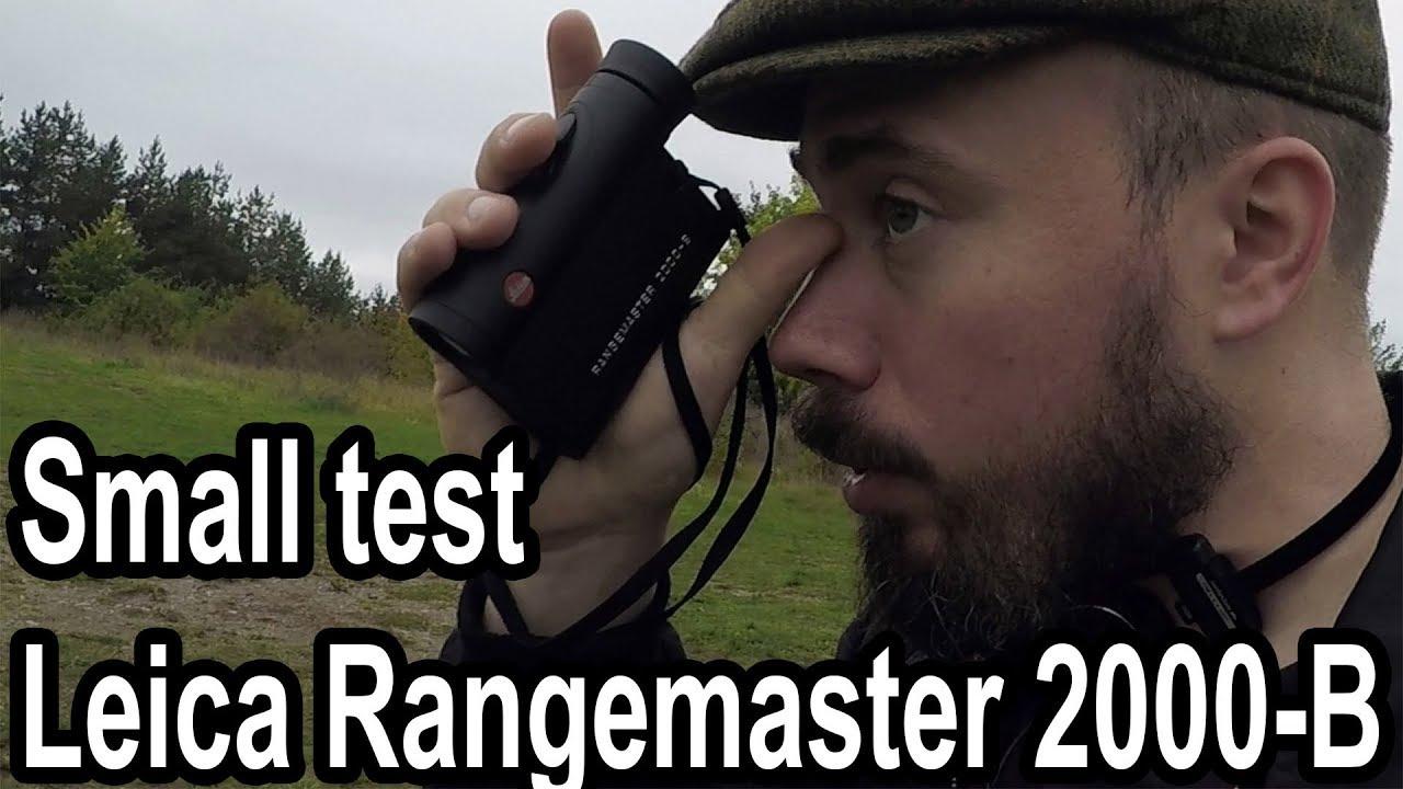 Leica Entfernungsmesser Crf 2000 B : Small test leica rangemaster b youtube