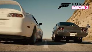 Fast & Furious 7 - Paul Walker Tribute Scene (Horizon 2 Remake)