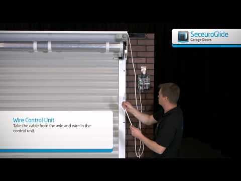 Seceuroglide - Adding the Control Unit and Receiver