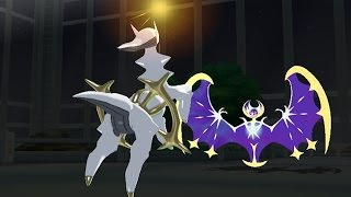 Pokemon Sun and Moon Wi-Fi Battle: Arceus Passes Judgment! (1080p)