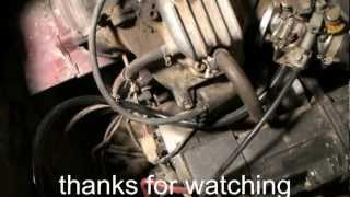 Yamaha G2 Golf Cart Tuneup & Repair. Part #4
