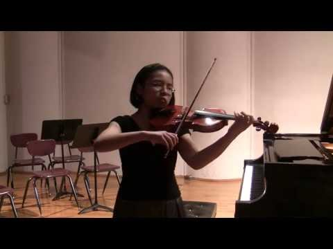 Bach Sarabande from d minor Partita for Solo Violin (BWV 1004)