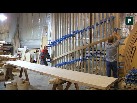 Производство деревянных лестниц  // FORUMHOUSE