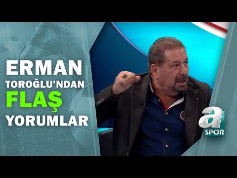 Antalyaspor 1 - 1 Trabzonspor Erman Toroğlu Maç Sonu Yorumları / A Spor