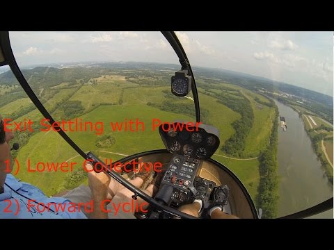 GoPro: R22 Helicopter Add-On Flight #26, Settle w/ Power, Full Autos! + ...