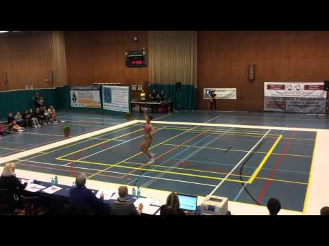 Sports aerobic interclub FISAF Belgium 2015 - Marlies Torfs